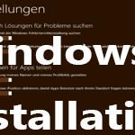 Windows 8 Installation