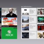 Video und Musik App von Windows 8