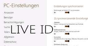 live id windows 8