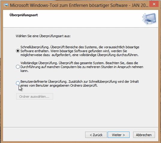 schadsoftware boardmittel