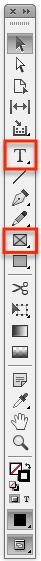 werkzeugleiste indesign