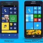 Windows Phone 8: Samsung Ativ S Neo und HTC 8XT erscheinen in den USA