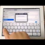 Code Sperre am iPad einrichten – Video