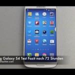 Samsung Galaxy S4 im Test – Video