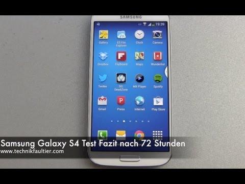 Samsung Galaxy S4 im Test - Video