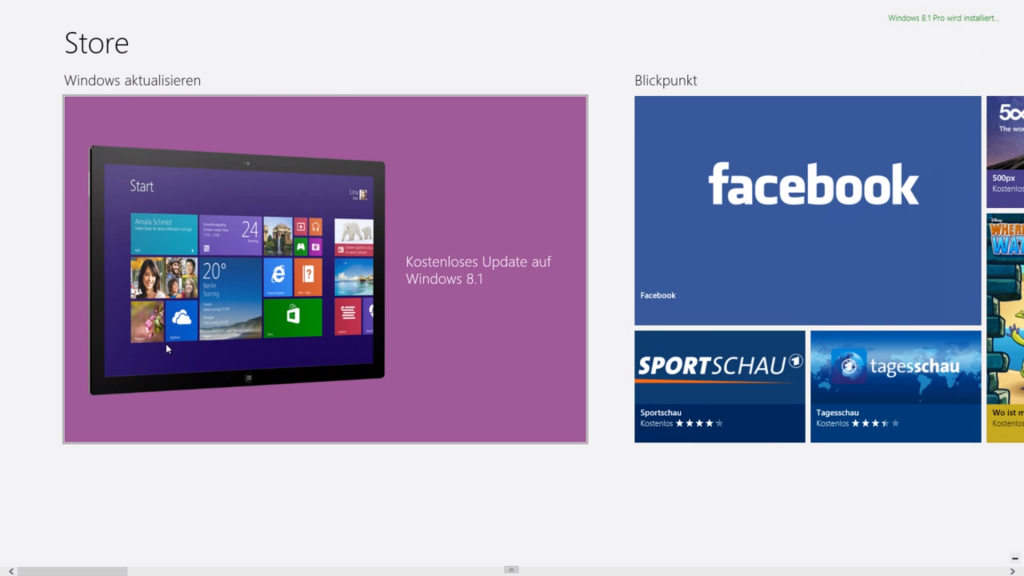 windows 8.1 installation update upgrade