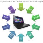10 Gründe warum ein Notebook besser ist als ein Desktop PC
