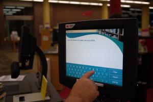 Einfache Eingabe mit dem Touchscreen