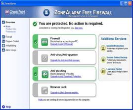 Firewall einrichten und auf die höhste Sicherheitsstufe stellen