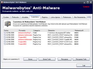 Malewarebytes Anti Malware