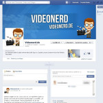 Videonerd ist jetzt auch bei Facebook vertreten