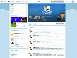 Videonerd bei Twitter