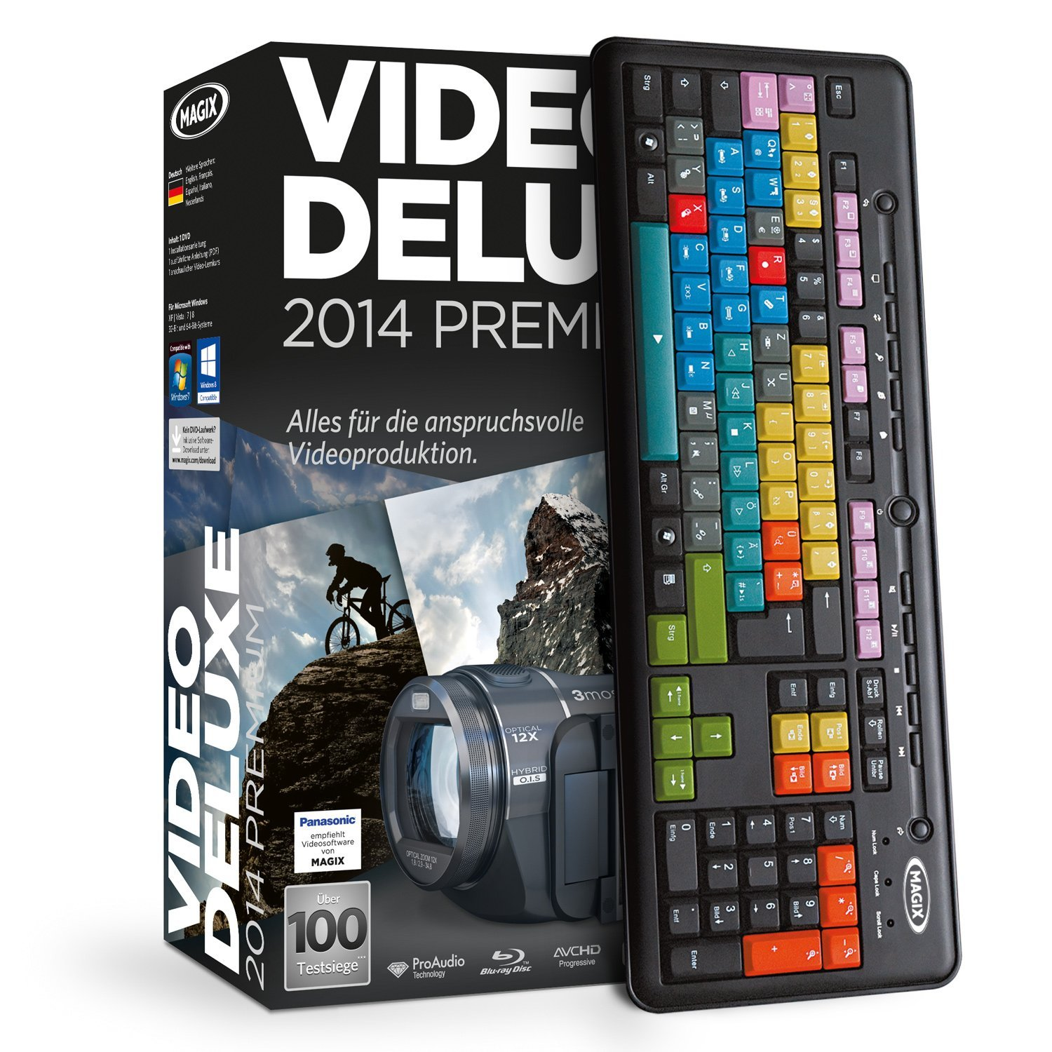 Magix Video Deluxe 2014 Controll Set