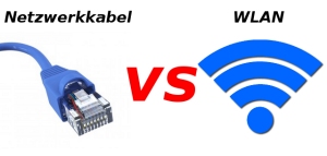 Netzwerkkabel vs WLAN