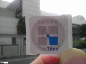 Aufklebbarer NFC-Chip