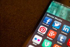 Soziale Netzwerke auf dem Smartphone