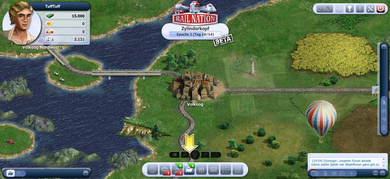 Screenshot Übersichtskarte Volkroog