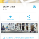 google Maps ohne Internetverbindung (Android)