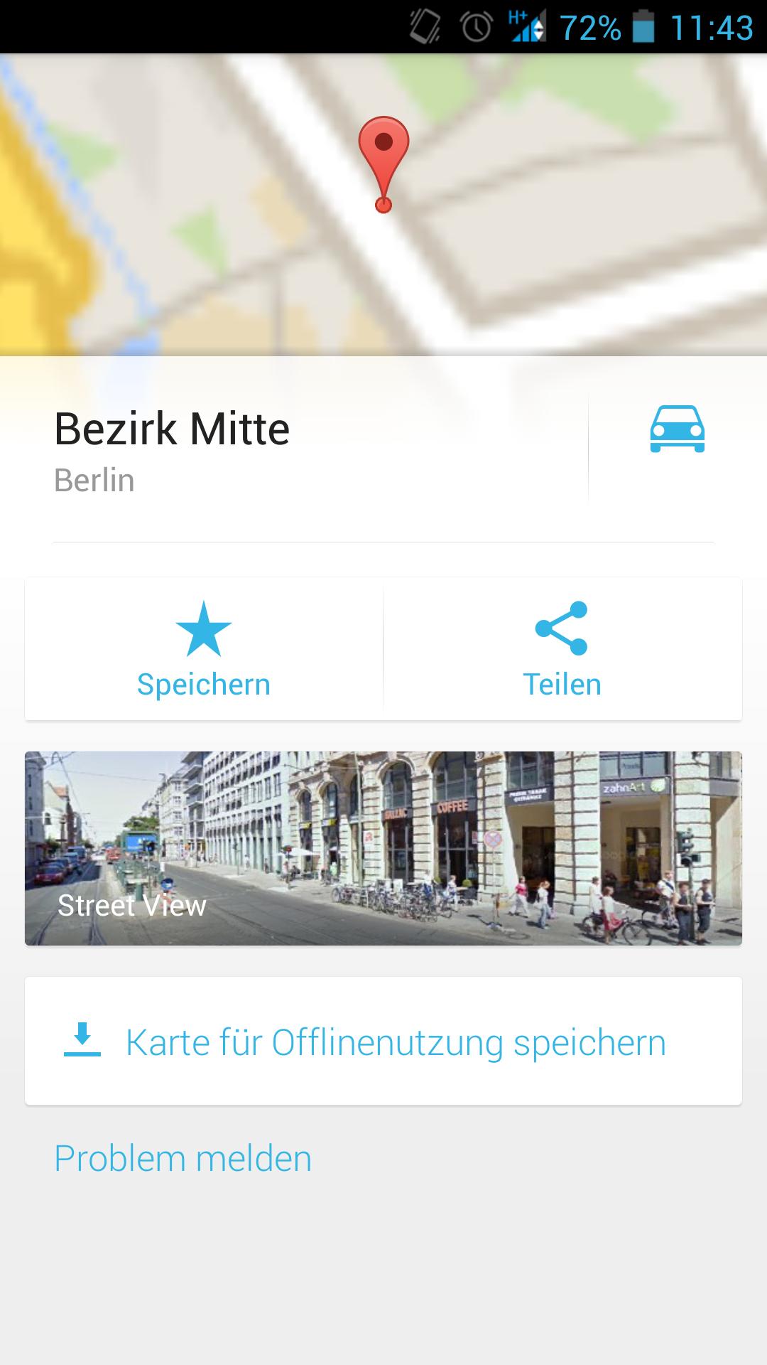 google Maps - Karten bequem offline nutzen