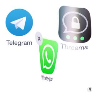Threema gehört zu den fünf beliebtesten Kurznachrichten-Diensten