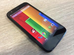 Groß und scharf – das Display der Motorola Moto G