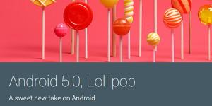 Android 5.0 Lollipop werden 32- und 64-Bit-Prozessoren unterstützt
