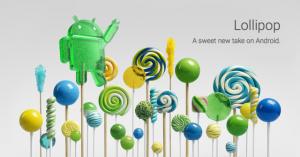 Google stellte im Oktober 2014 das 5.0 Lollipop vor