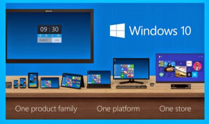 Windows 10 in der Consumer Preview Version