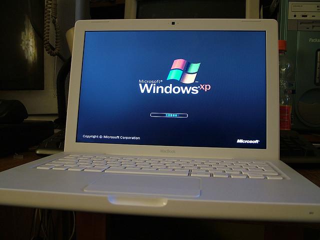 Windows XP Startbildschirm