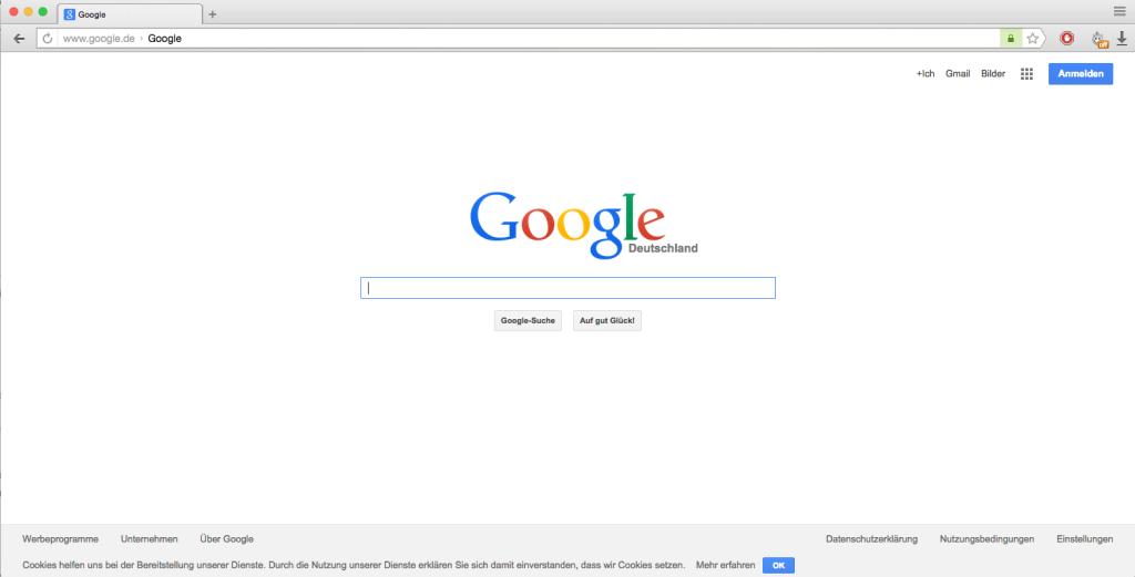 So sieht der Yandex-Browser aus