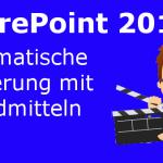SharePoint 2013 Server automatisch sichern [Anleitung und Video]