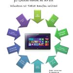 10 Gründe, warum man sich ein Windows-Tablet kaufen sollte