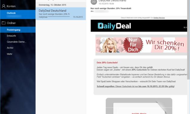 Windows 10: Mail App bedienen und konfigurieren [Video]