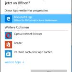 PDF Dateien unter Windows 10 öffnen