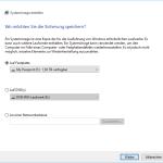 Systemabbild unter Windows 10 erstellen [ Video]
