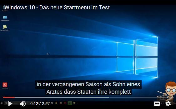 automatische Untertitel von Youtube