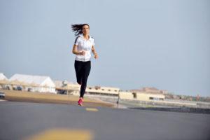 Joggen mit Sportuhr