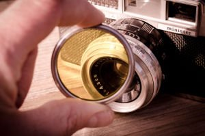 Filter Spiegelreflexkamera