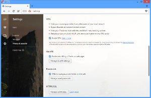 Opera - kostenloser VPN-Service