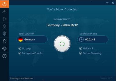 mit Server verbunden