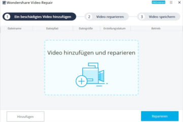Wondershare Recoverit Video Repair